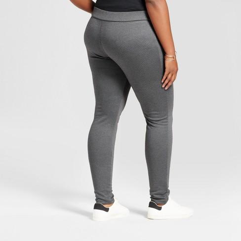 9ce2f00881a Women s Plus Size Pull On Ponte Pants - Ava   Viv™   Target