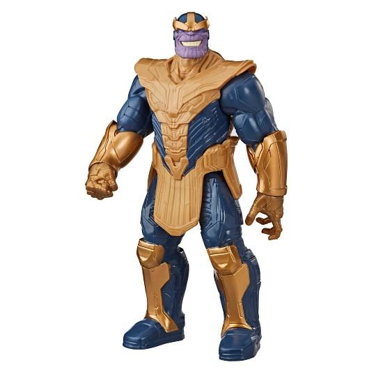 Marvel Avengers Titan Hero Series Blast Gear Deluxe Thanos Action Figure image number null