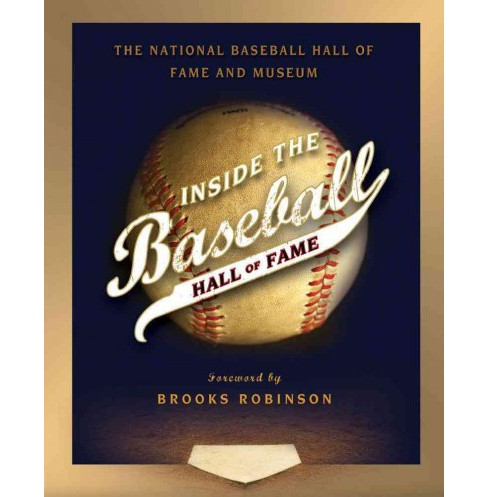 Inside the Baseball Hall of Fame (Hardcover) - image 1 of 1