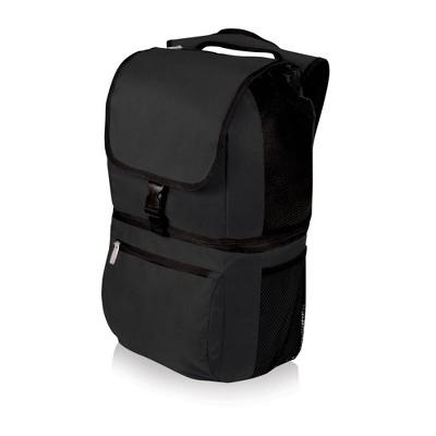 Picnic Time Zuma 7.5qt Backpack Cooler - Black