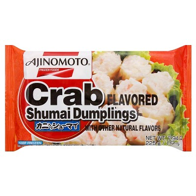 Ajinomoto Frozen Crab Shumai Dumplings - 7.9oz