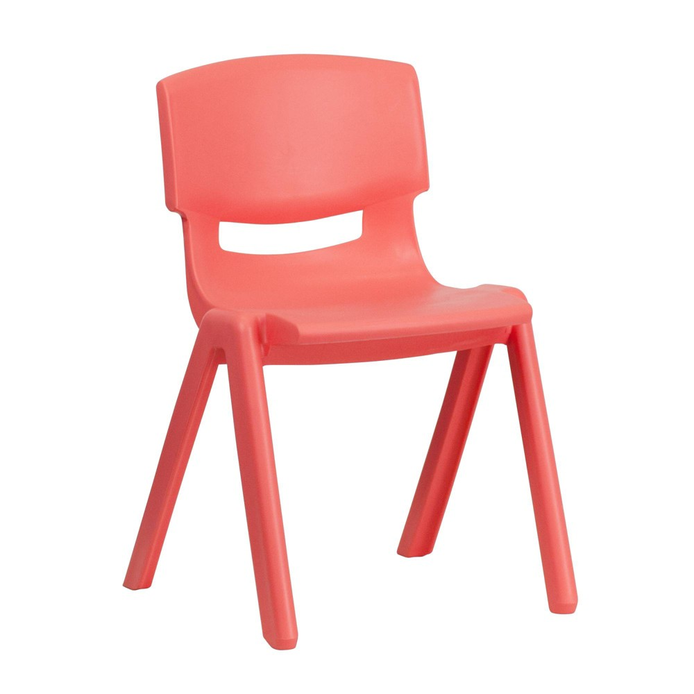 Image of Medium Stacking Student Chair - Red - Belnick, Adult Unisex