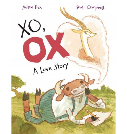 Xo, Ox : A Love Story (School And Library) (Adam Rex) - image 1 of 1