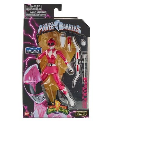Mighty Morphin Power Rangers Metallic Legacy Figure - Pink - image 1 of 2