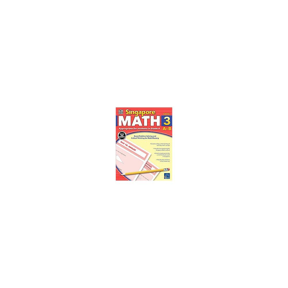 Singapore Math A & B : Level 3 (Workbook) (Paperback)