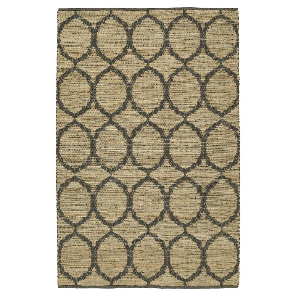 8'X10' Gray Ogee Loomed Area Rug - Addison Rugs