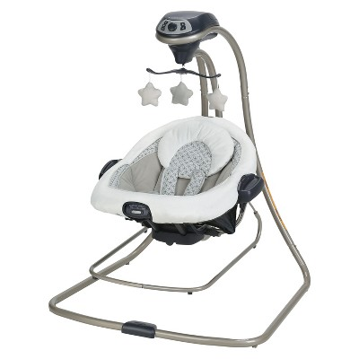 Graco DuetConnect LX Baby Swing and Bouncer - McKinley