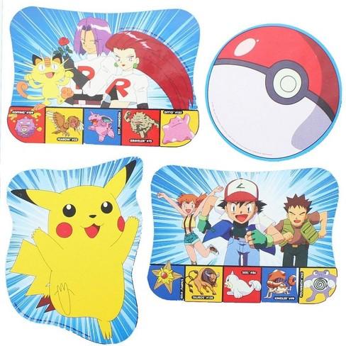 Nerd Block 4 Pokemon Pikachu Print Decorations Party Supplies Target