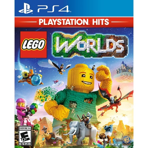 LEGO Worlds - PlayStation 4 (PlayStation Hits) - image 1 of 4