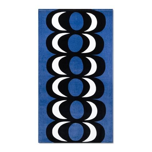 "72""x40"" Beach Towel Blue - Marimekko for Target - image 1 of 3"