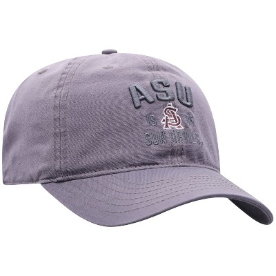 NCAA Arizona State Sun Devils Men's Skill Gray Garment Washed Canvas Hat