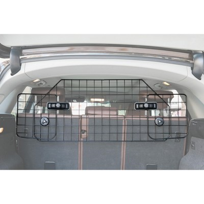 PawsMark Adjustable Large Pet Barrier Gate For SUV's, Cars Vans and Vehicles Safety Car Divider for Dogs Pets, Heavy Duty Universal Fit