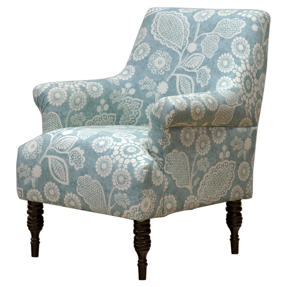 Candace Arm Chair - Skyline Furniture, Garden Craft Seafoam