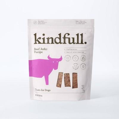 Pasture Raised Beef Jerky Recipe Dog Treats - 16oz - Kindfull™