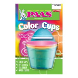 Paas Easter Basic Color Cups Decorating Kit