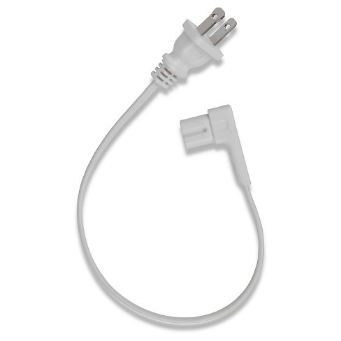Flexson Short Power Cable for SONOS PLAY:1 - White - image 1 of 1