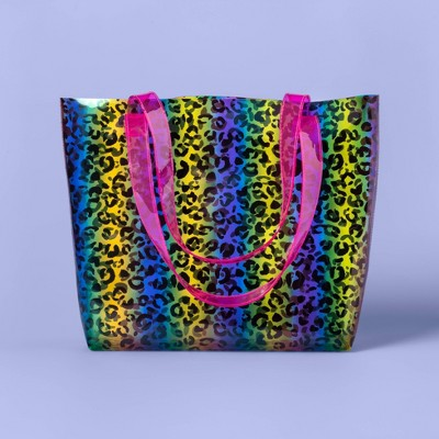 Kids' Rainbow Leopard Tote Handbag - More Than Magic™