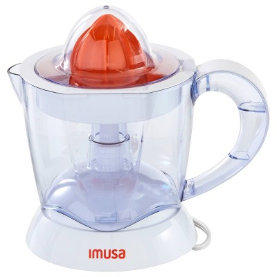 IMUSA 34oz Electric Citrus Juicer 40 Watts - White
