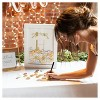 Monogram Gold Floral Guestbook Dropbox - image 4 of 4