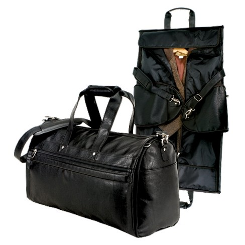 G. Pacific FAA Carry On Approved Duffel Garmet Bag - Black - image 1 of 2