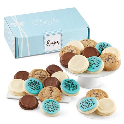 Cheryl's Cookies Enjoy Gift Box Classic Cookie Gift Assortment (24 Cookies)