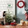 Fresh Cut Christmas Trees Decorative Sign White and Navy - Wondershop™ - image 2 of 2