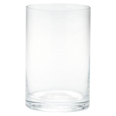 Diamond Star Glass Cylinder Vase Clear (6 x4 )