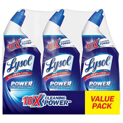 Lysol Toilet Bowl Cleaner - Power Triple Pack (3x24) oz. - image 1 of 5