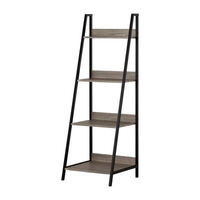 """57.75"""" Evane 4 Fixed Shelves Shelving Unit Ash Oak - South Shore"""