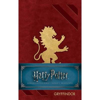 Harry Potter Gryffindor Ruled Pocket Journal -  (Hardcover)