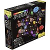 NMR Distribution Pink Floyd Dark Side of the Moon 600 Piece Shaped 2 Sided Jigsaw Puzzle - image 3 of 4