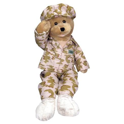 Chantilly Lane American Heroes GI Bear - image 1 of 1