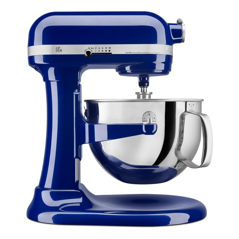 KitchenAid Refurbished Professional 600 Series 6qt Bowl-Lift Stand Mixer Dark Blue - RKP26M1XBU