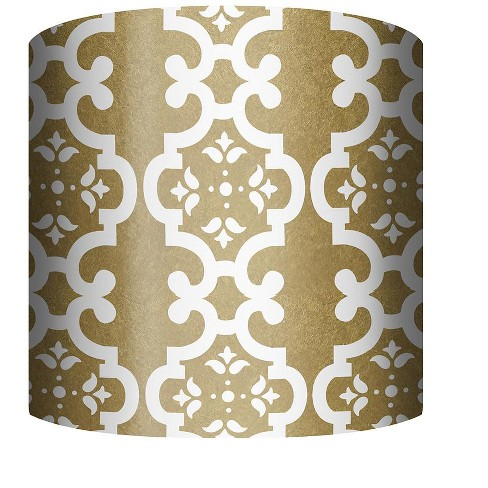 """PTM Images 10-0088 10"""" Tall x 12"""" Wide Cylinder Fabric Lamp Shade - image 1 of 1"""