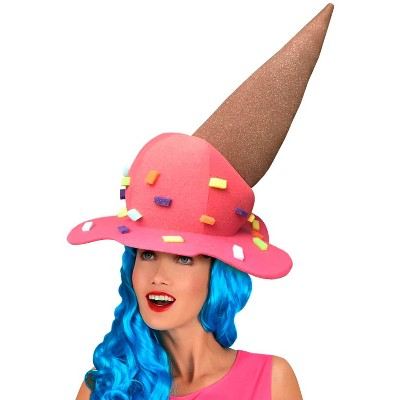 Funky Fresh Melted Ice Cream Adult Foam Costume Hat