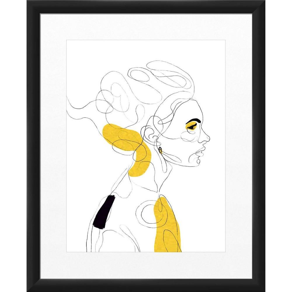 18 34 X 22 34 Timeless Woman Framed Wall Art Black Ptm Images