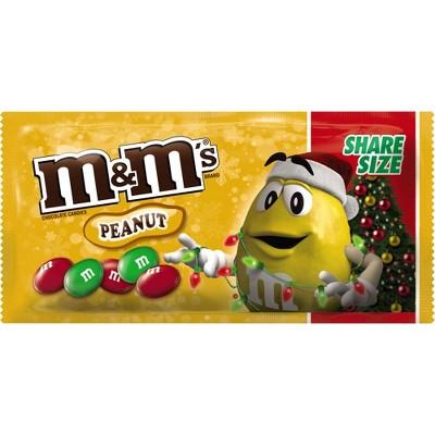 M M s Peanut Christmas Share Size – 3.27oz – BrickSeek 23cc0cb758b50
