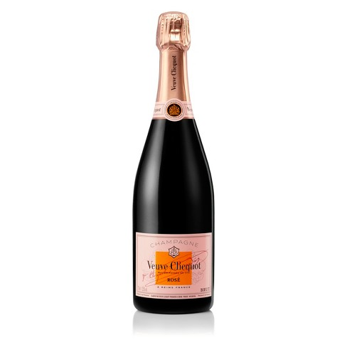 Veuve Clicquot Rose Champagne - 750ml Bottle - image 1 of 6