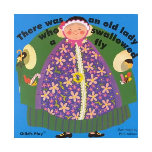 There Was an Old Lady Who Swallowed a Fly - (Classic Books with Holes) (Board_book) - image 1 of 1