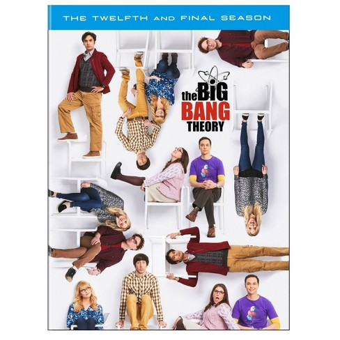 The Big Bang Theory: The Twelfth and Final Season (Target Exclusive) (DVD) - image 1 of 2