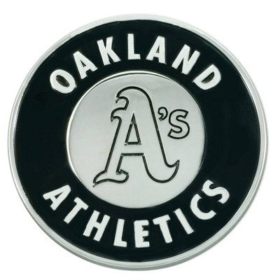 MLB Oakland Athletics 3D Chrome Metal Emblem
