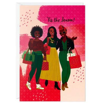 16ct Hallmark Shopping Holiday Greeting Cards