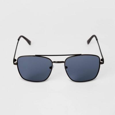 Men's Aviator Metal Sunglasses - Goodfellow & Co™ Gray