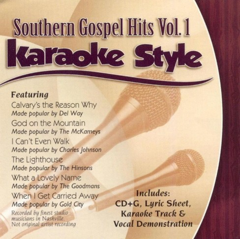 Karaoke Style - Southern Gospel Hits:Vol 1 (CD) - image 1 of 1
