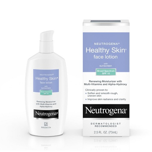 Neutrogena Healthy Skin Face Moisturizer - SPF 15 - 2.5 fl oz - image 1 of 4