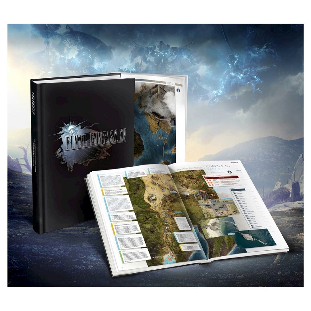 Final Fantasy XV: The Complete Official Guide Collector's Edition (Hardcover) by Piggyback