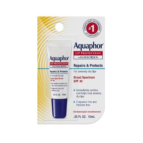 Aquaphor Lip Protectant + Sunscreen Lip Balm - SPF 30 - 0.35 fl oz - image 1 of 1
