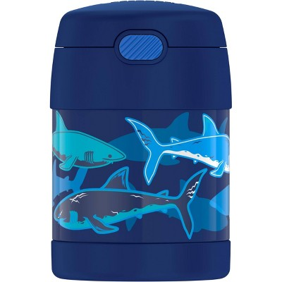 Thermos Sharks 10oz FUNtainer Food Jar with Spoon - Navy