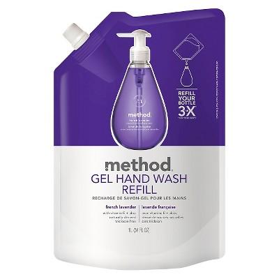 Method Gel Hand Soap Refill French Lavender 34oz