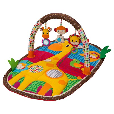 Infantino Take & Play Safari Activity Gym & Play Mat